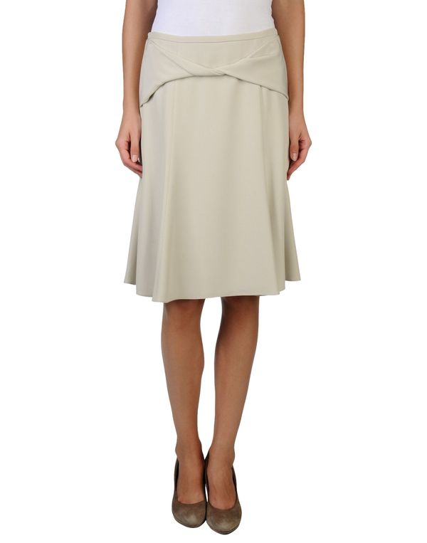 淡灰色 ARMANI COLLEZIONI 及膝半裙