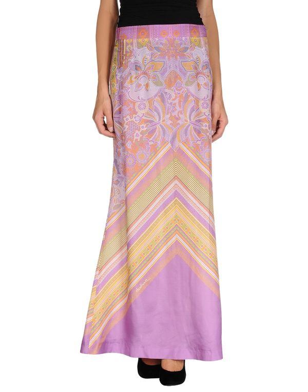 浅紫色 CLASS ROBERTO CAVALLI 长裙