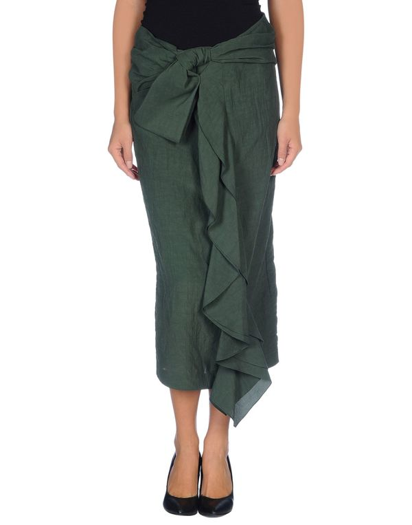 绿色 MARNI 半长裙