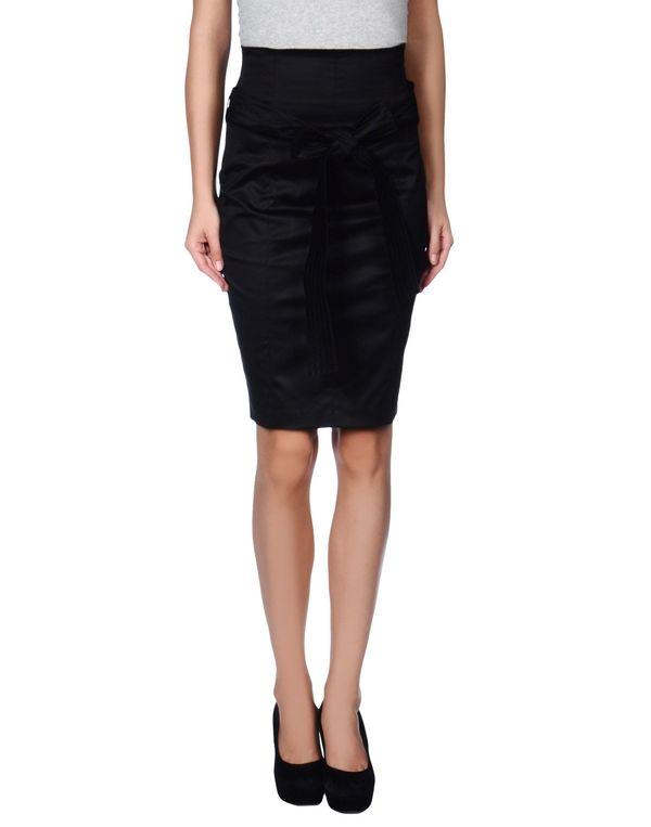 黑色 BLUGIRL BLUMARINE 及膝半裙