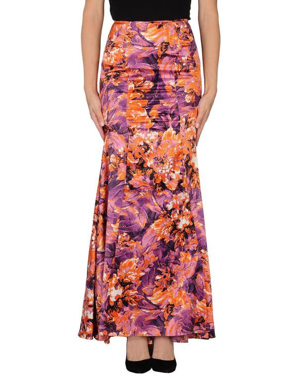 紫色 JUST CAVALLI 长裙
