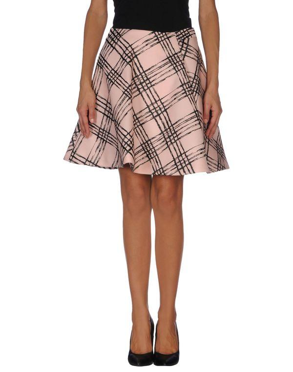 粉红色 BALENCIAGA 及膝半裙