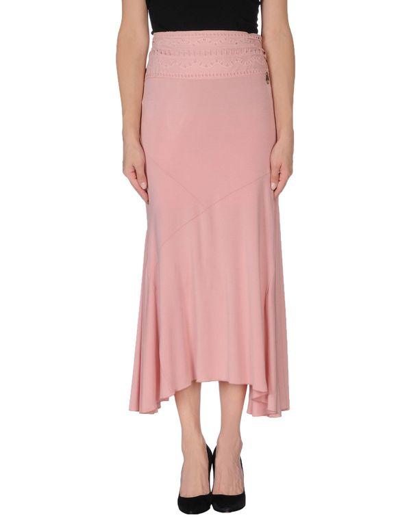 粉红色 CLASS ROBERTO CAVALLI 半长裙