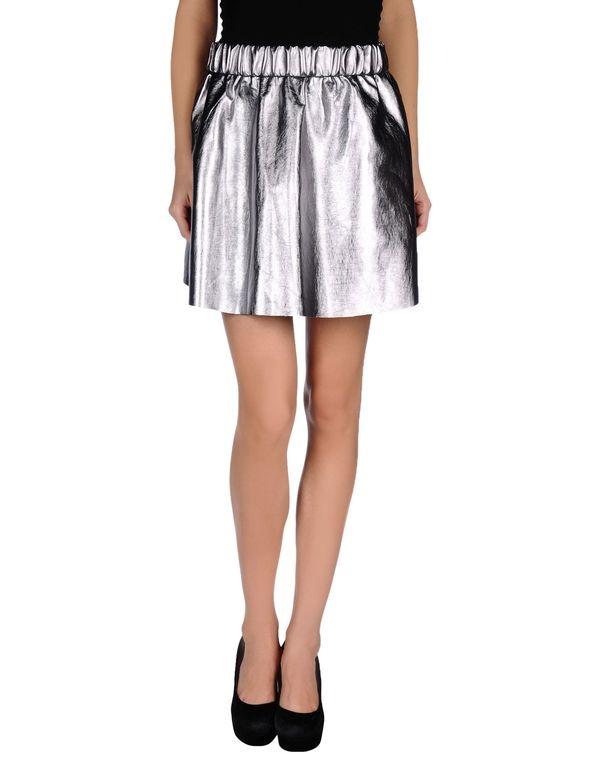 银色 VERO MODA 超短裙