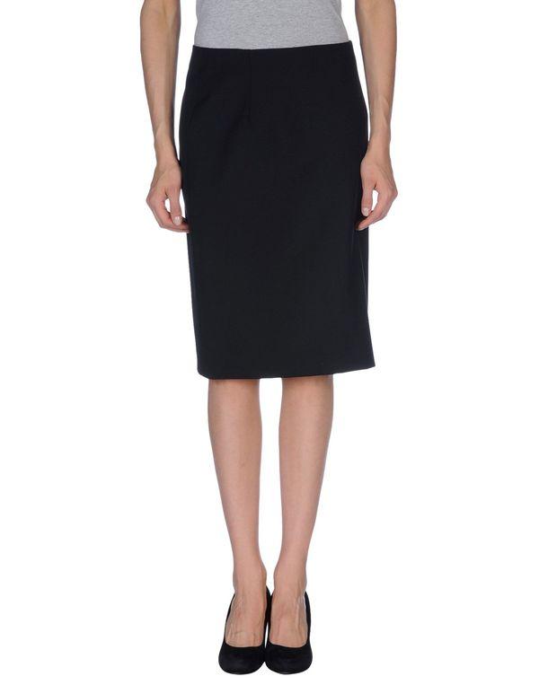 黑色 PIAZZA SEMPIONE 及膝半裙