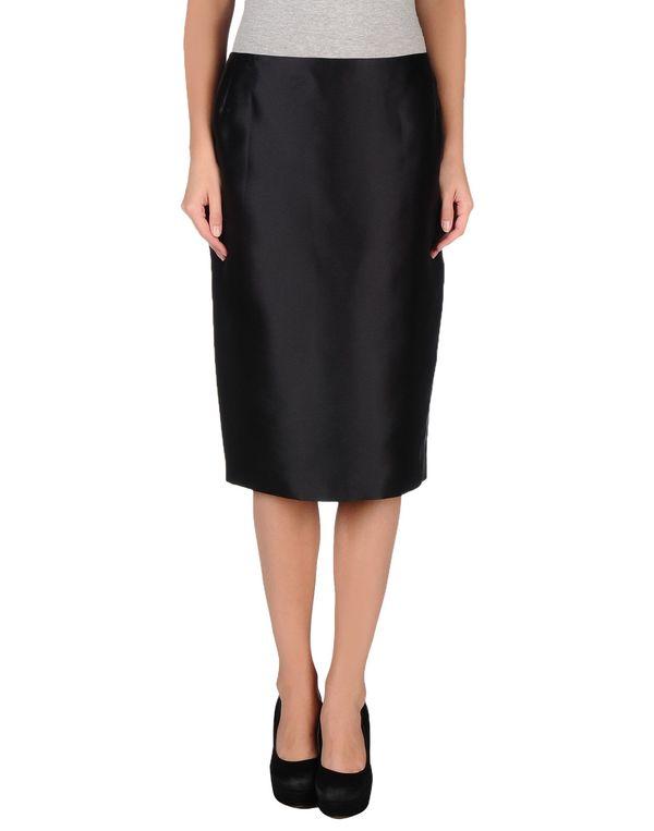 黑色 BOTONDI MILANO 半长裙
