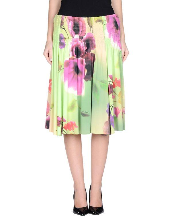 绿色 CLASS ROBERTO CAVALLI 半长裙