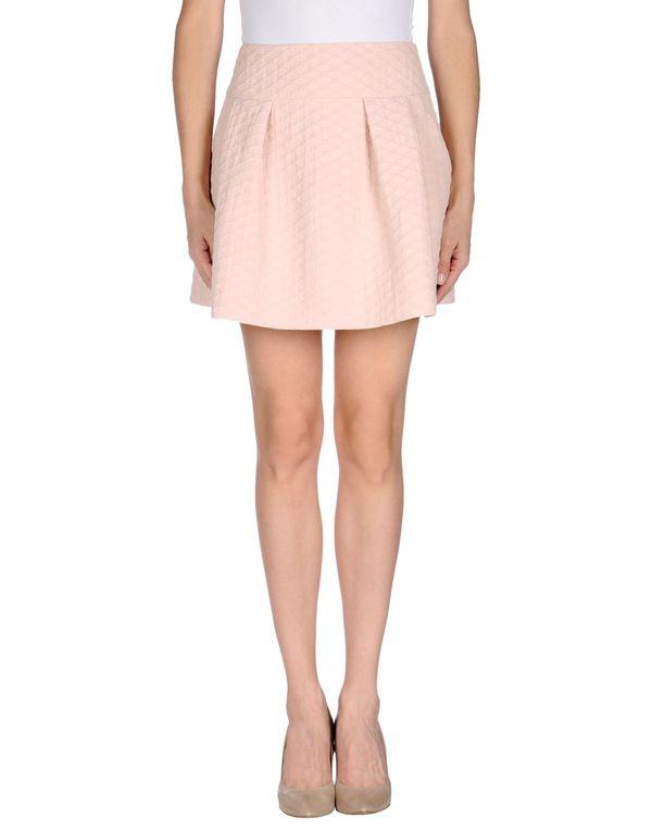 浅粉色 REDVALENTINO 超短裙