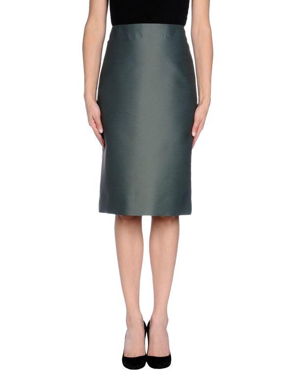 孔雀绿 MARNI 半长裙
