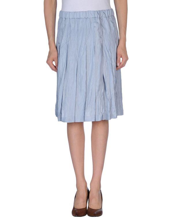 天蓝 MARNI 及膝半裙