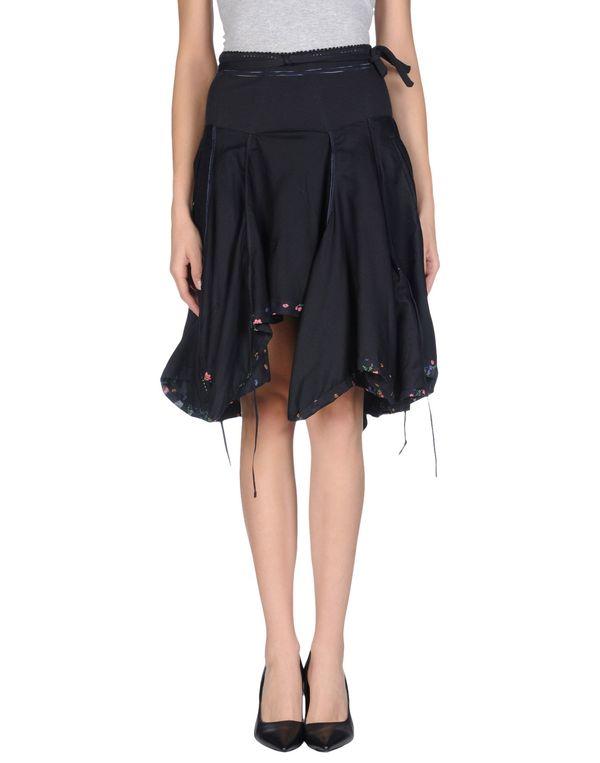 深藏青 HIGH 及膝半裙