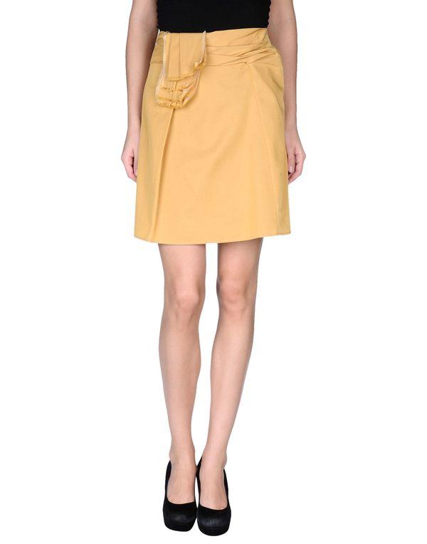 赭石色 REDVALENTINO 及膝半裙
