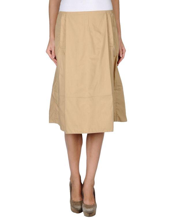 沙色 MARNI 半长裙