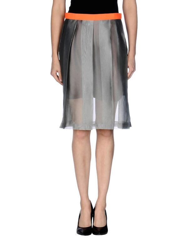 灰色 KOLOR 及膝半裙