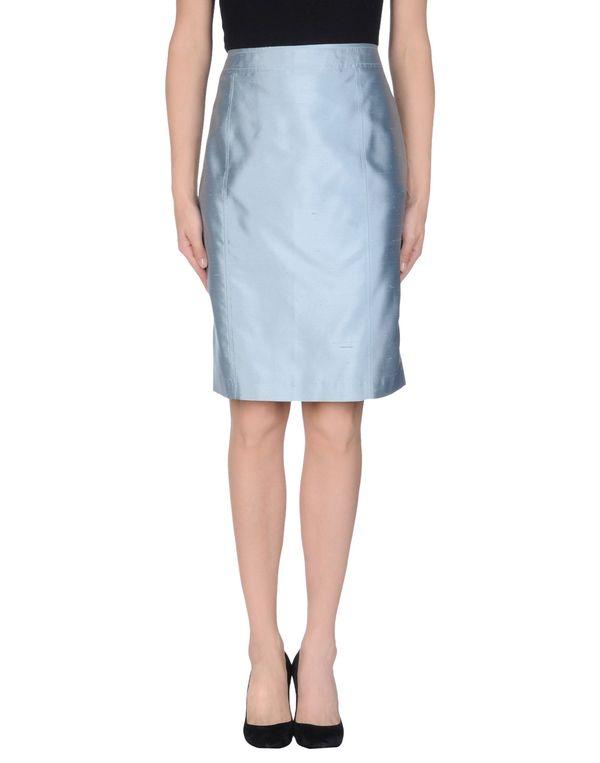 天蓝 BLUMARINE 及膝半裙