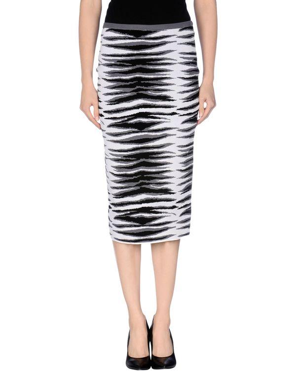 灰色 MILLY 半长裙