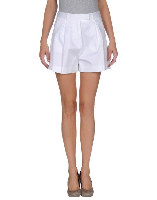 白色 MIU MIU 短裤