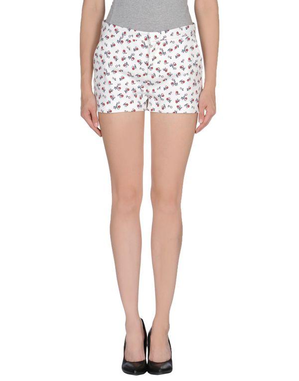 白色 REDVALENTINO 短裤