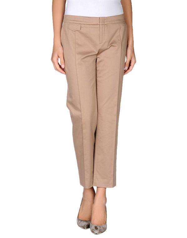 驼色 BLUMARINE 裤装