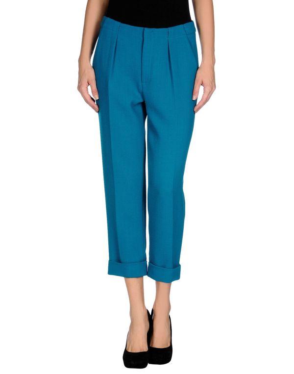 蓝绿色 ROLAND MOURET 裤装