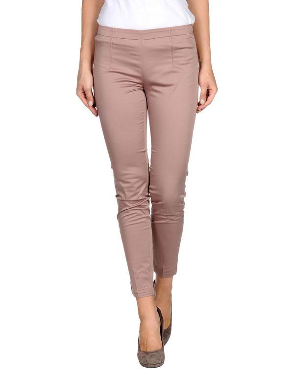 水粉红 SCERVINO STREET 裤装