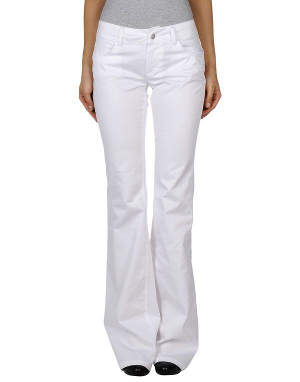 白色 DOLCE & GABBANA 裤装