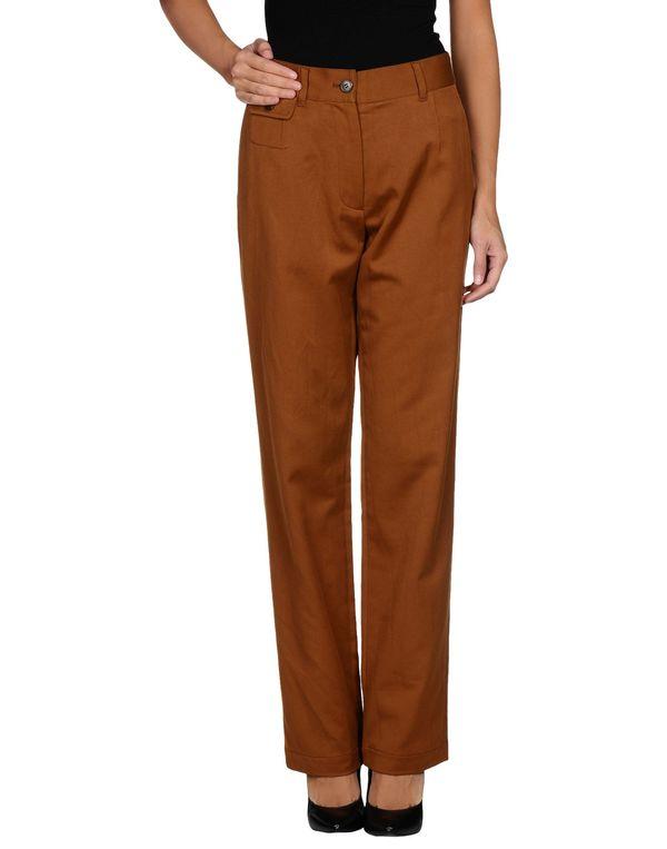 棕色 DRIES VAN NOTEN 裤装
