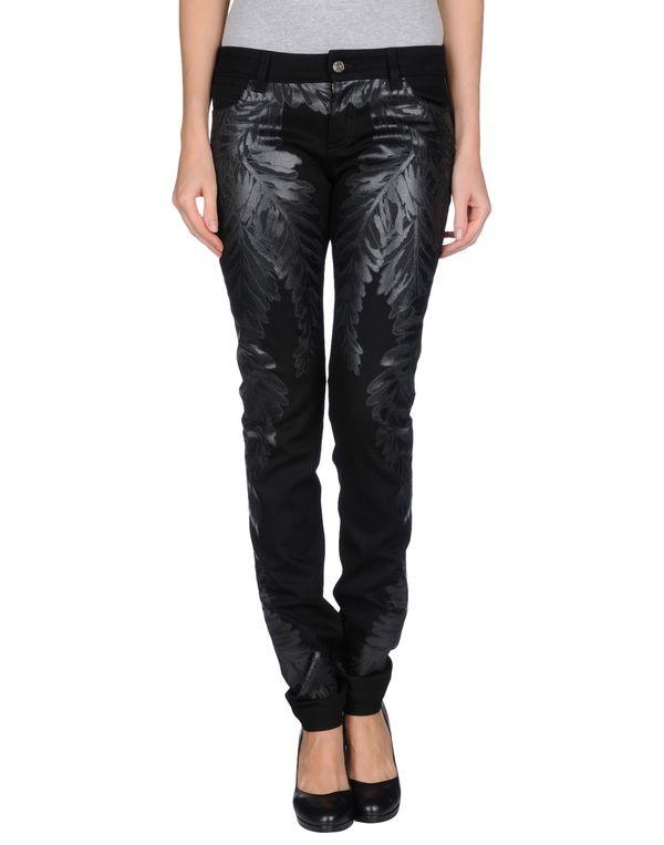黑色 GUCCI 牛仔裤