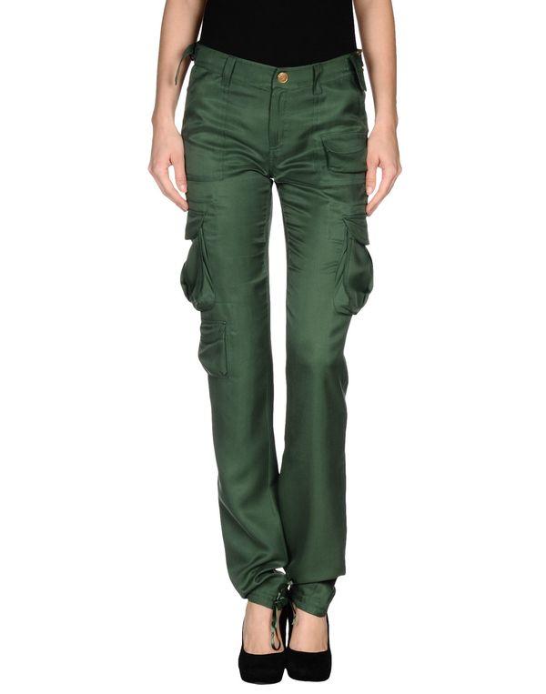 军绿色 BLUMARINE 裤装