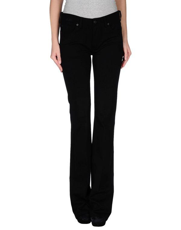 黑色 7 FOR ALL MANKIND 裤装