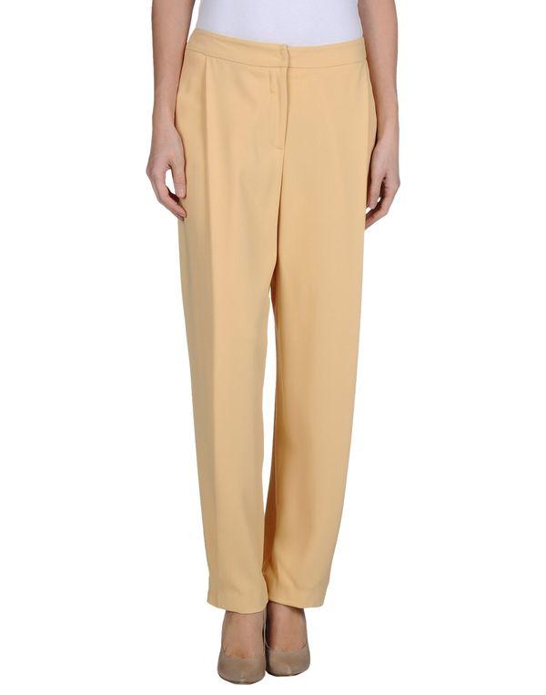 赭石色 AQUILANO-RIMONDI 裤装