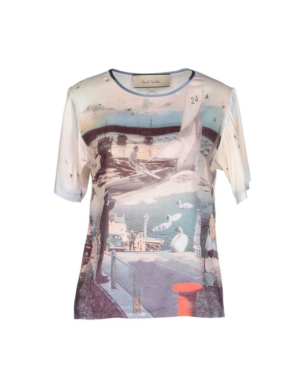孔雀绿 PAUL SMITH T-shirt