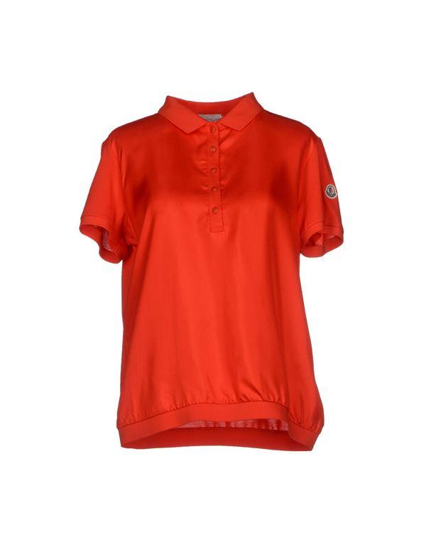 红色 MONCLER Polo衫