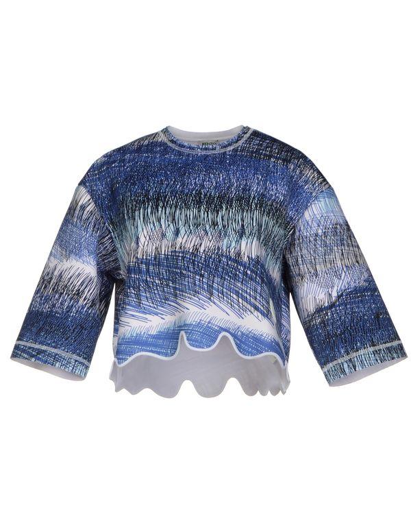蓝色 KENZO T-shirt