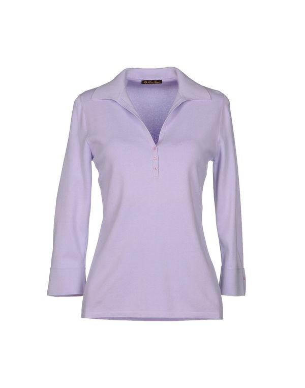 丁香紫 LORO PIANA 套衫
