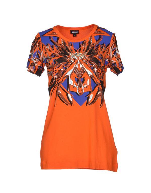 橙色 JUST CAVALLI T-shirt