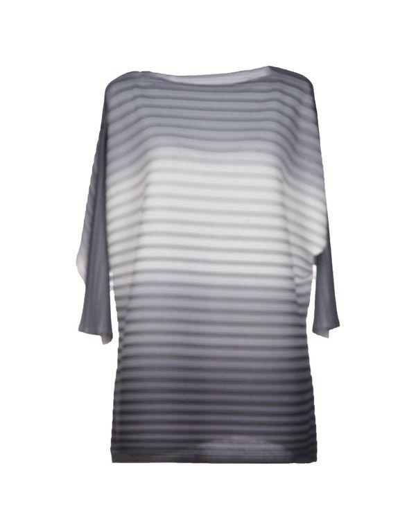 淡灰色 ISSEY MIYAKE 女士衬衫