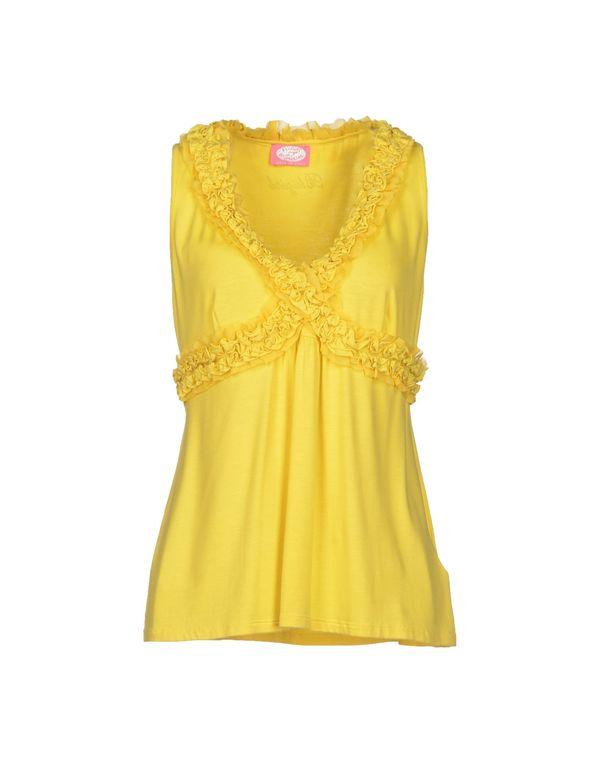 黄色 BLUGIRL BLUMARINE T-shirt