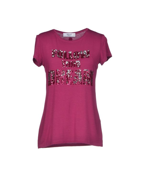 石榴红 BLUGIRL BLUMARINE T-shirt
