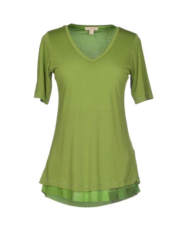 绿色 BURBERRY BRIT T-shirt