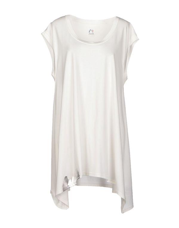 白色 TSUMORI CHISATO 短款连衣裙