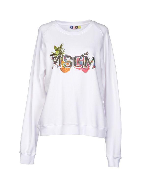 白色 MSGM 运动服