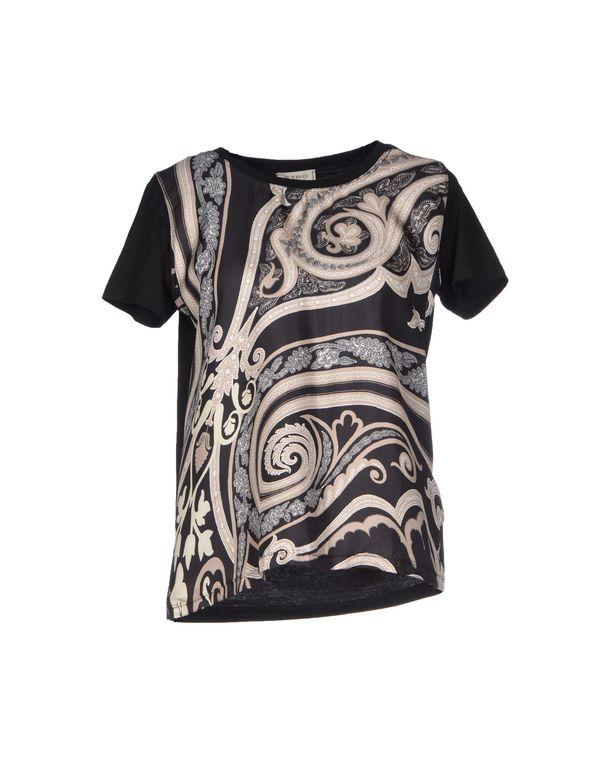 黑色 ETRO T-shirt
