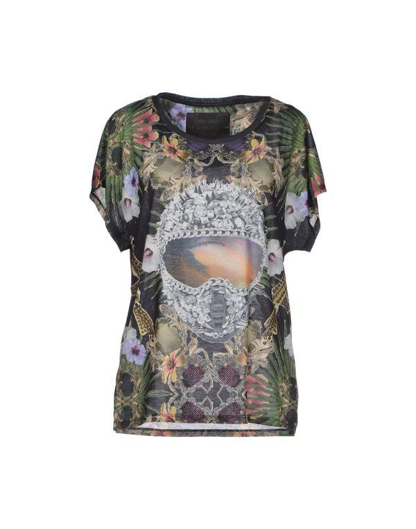 黑色 PHILIPP PLEIN COUTURE T-shirt