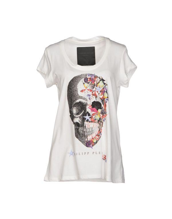 白色 PHILIPP PLEIN COUTURE T-shirt
