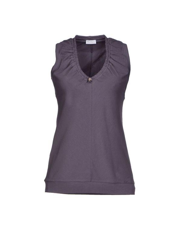 紫色 BRUNELLO CUCINELLI T-shirt