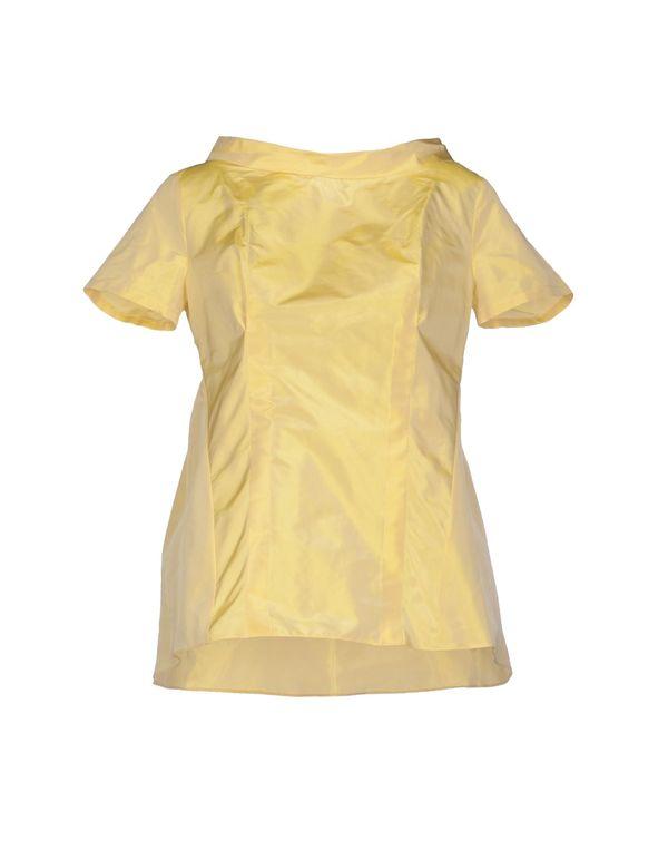 黄色 JIL SANDER NAVY 女士衬衫