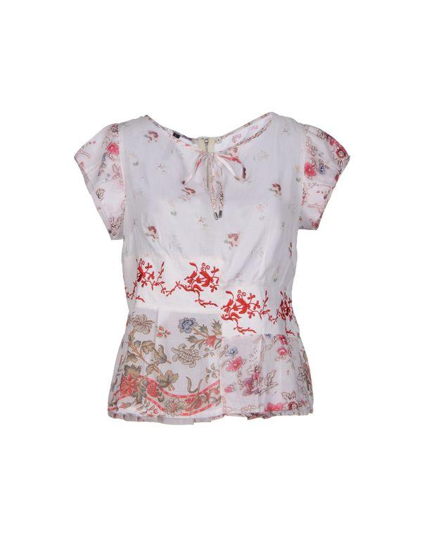 白色 HIGH 女士衬衫