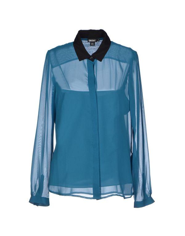 孔雀绿 DKNY Shirt
