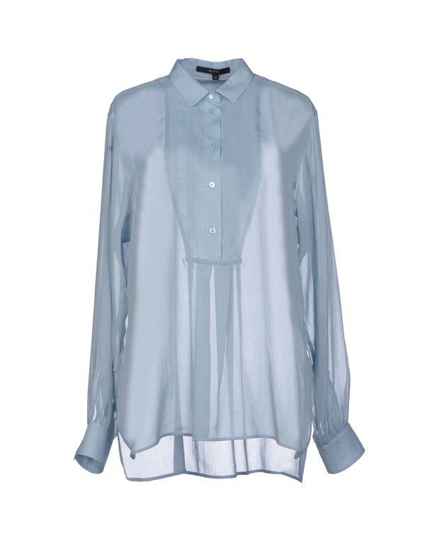 天蓝 GUCCI 女士衬衫